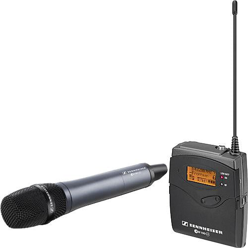 Sennheiser EW135-P G3 Camera Mount Wireless Microphone System with 835 Handheld Mic - B (626-668 MHz)