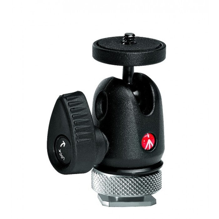 Manfrotto MICRO BALL HEAD W/ HOT SHOE MOUNT