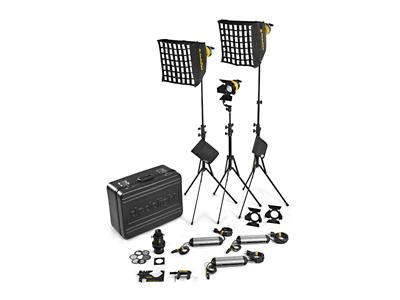 Dedolight DLED4 Bi-Color 3 Light Kit (Standard) AC