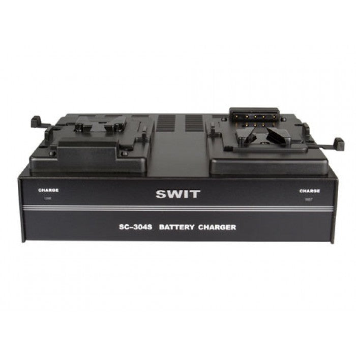 SWIT V-Mount 2 Channel Simultaneous Battery Charger