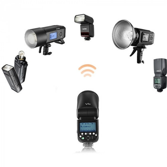 Godox V1 TTL Flash Round Head For Sony