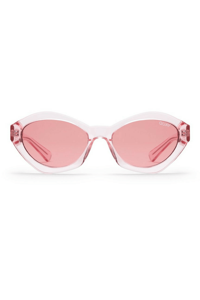 e99aee9b0b7 As If Sunglasses in Pink - Quay Sunglasses