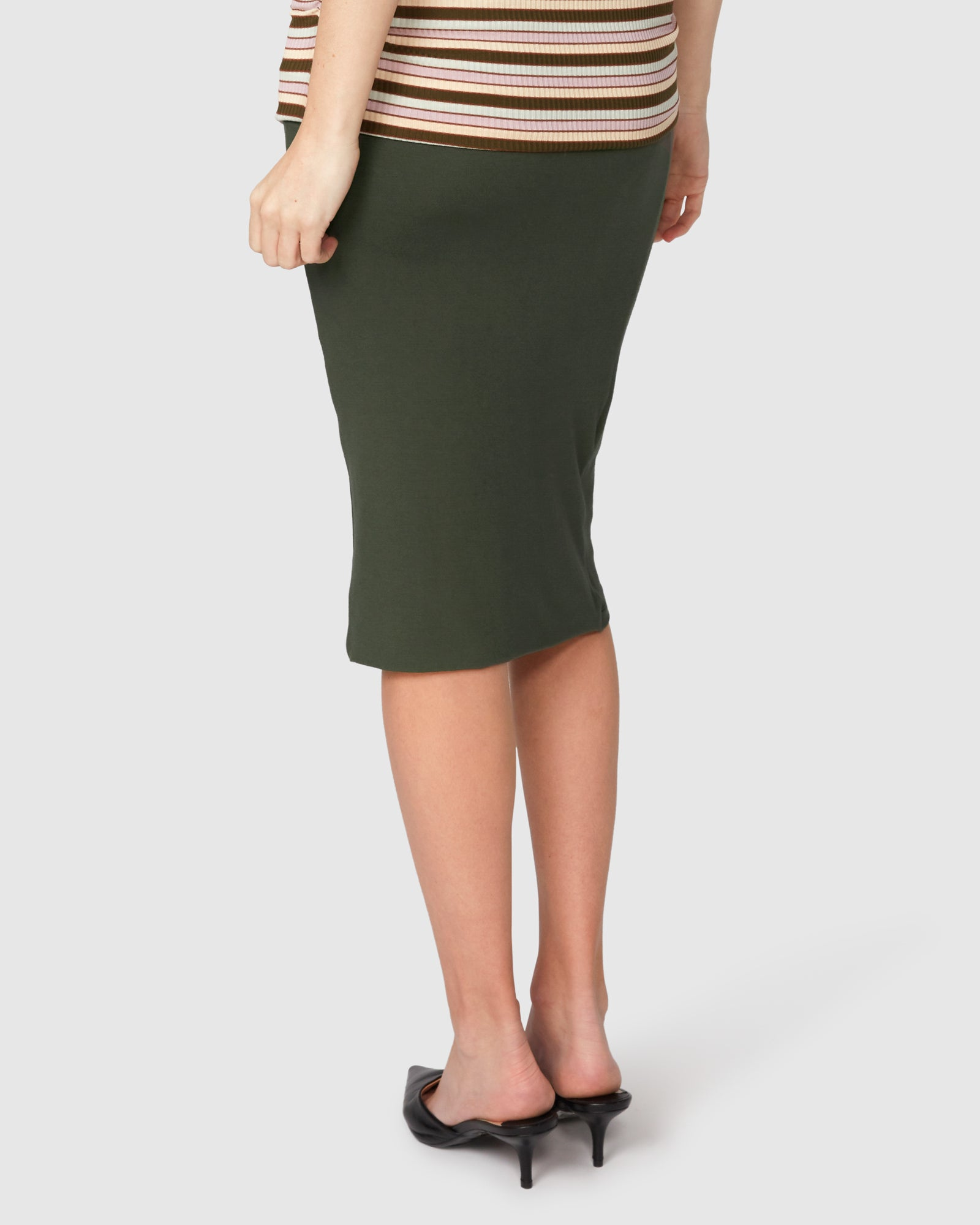 Harley Cross Hem Skirt