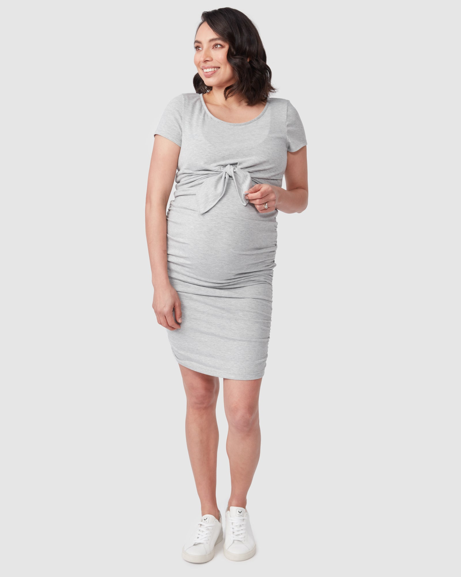 Bailey Tie Nursing Dress
