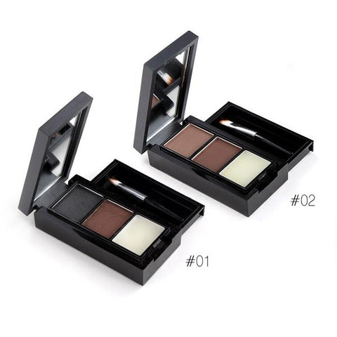 MENOW Professional Waterproof Eyebrow Powder Palette