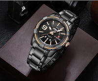 Military Waterproof Quartz Stainless Steel Sports Watch Relogio Masculino