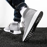 High Top Men Running Shoes