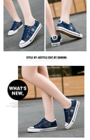 Denim Casual Canvas Shoes