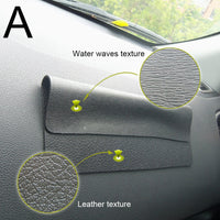 Silicone Automobiles Dashboard Anti Slip Mat Double-sided Sticky Pad For Phone Sunglass Holder