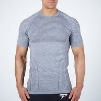 Running Tight Quick Dry Fitness Bodybuilding jogging Gym T-shirt