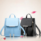 Leather Women Backpack