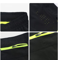 "Quick Dry Sports 3"" Exercise Jogging 2 IN 1 With Longer Liner Running Shorts"