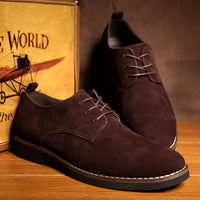 Oxford Suede Leather Shoes