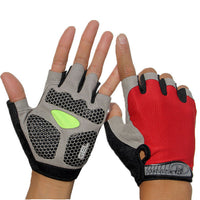 Men & Women's Sports 3D Gel Padded Anti-Slip Gym Gloves