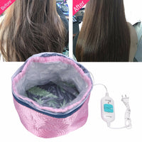 Hair Heating Oil Mask Cap Thermal Treatment Temperature Controlling