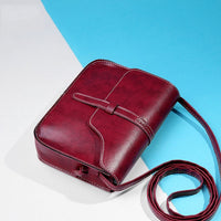Mini Shoulder Bag PU Leather Small Incense Cross body