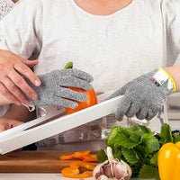 Anti-cut Safety Stainless Steel Wire Metal Mesh Kitchen Gloves