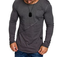 Long Sleeve Tank Tops Fitness Slim Jogging T-shirt