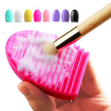 Silicone Makeup Brush Cleaning and Washing Scrubber