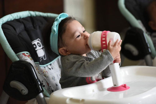 Baby Bottle Holder Hands-Free Feeding
