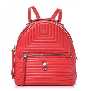 Fendi Quilted Backpack - Dtocco