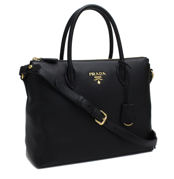 Prada Vitello Phenix Shoulder Bag - Dtocco