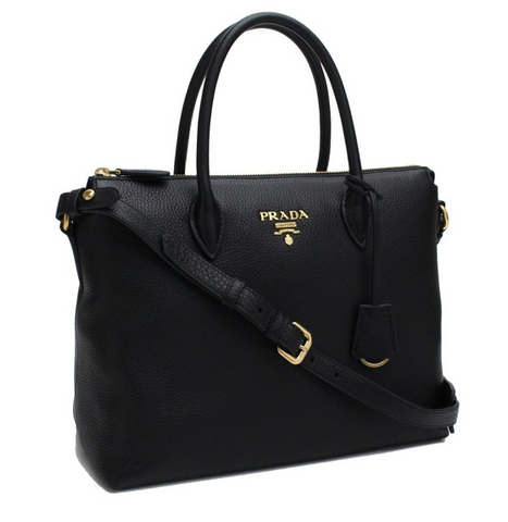 Prada Vitello Phenix Shoulder Bag