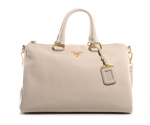 Prada Bauletto Vitello Phenix Handbag - Dtocco