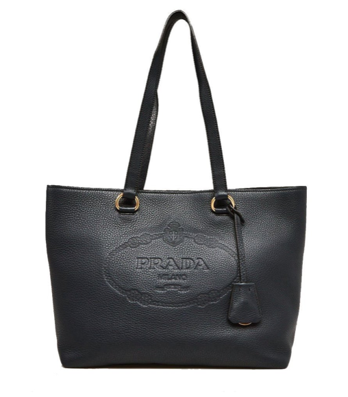 Prada Vitello Daino Shopping Tote - Dtocco