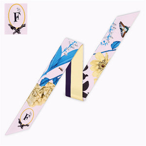 Letter F Scarf - Dtocco