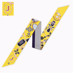 Letter J Scarf - Dtocco