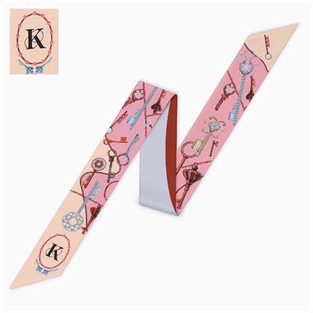 Letter K Scarf - Dtocco