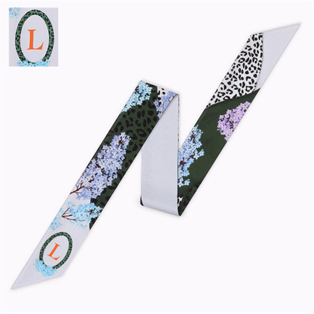 Letter L Scarf - Dtocco