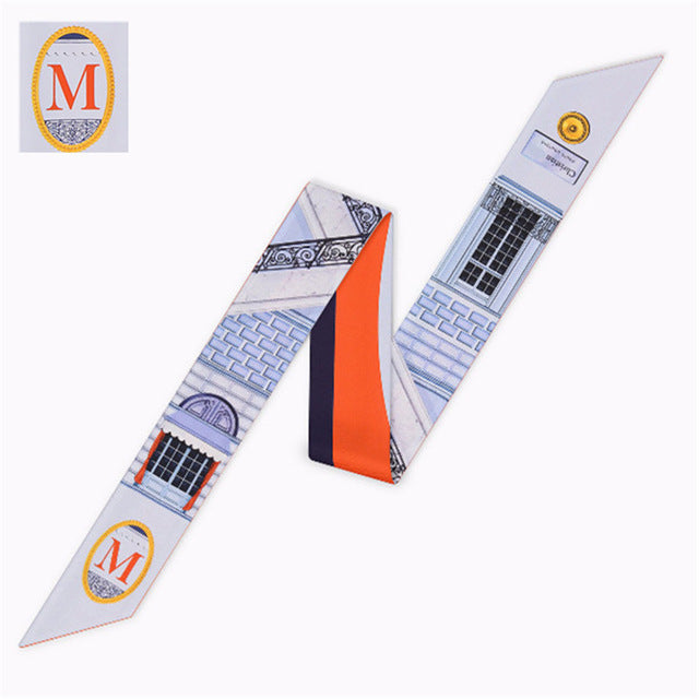 Letter M Scarf - Dtocco