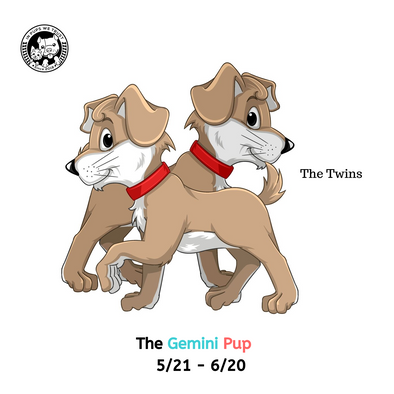 The Gemini Pup - In Pups We Trust