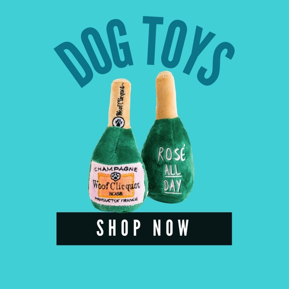 Luxury Dog Toys - In Pups We Trust