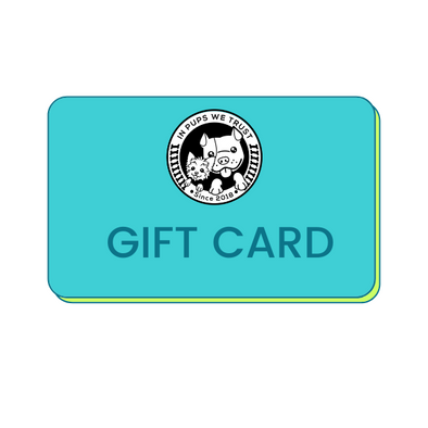 Physical Dog Lover Gift Card