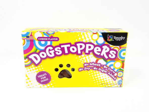 Dogstoppers Dog Treats, Cheese Flavor