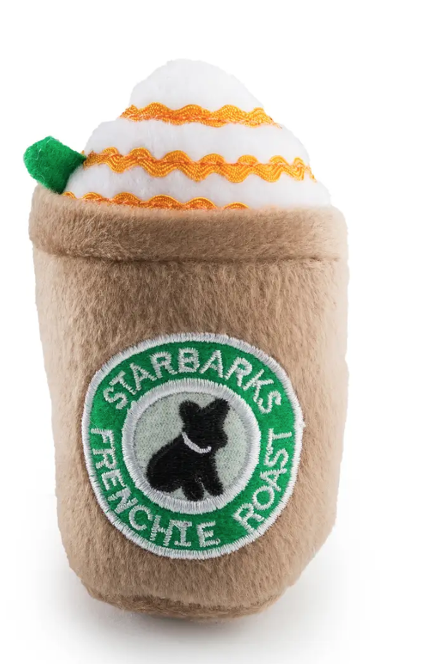 Starbarks Frenchie Roast W/ Straw