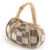 Chewy Vuiton Checker Handbag - In Pups We Trust