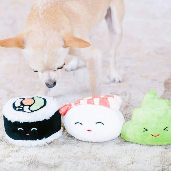 Sushi Bento Pet Toys - In Pups We Trust