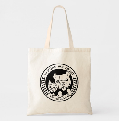 Tote Bag - In Pups We Trust