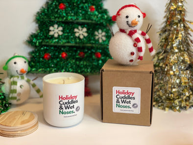 Holiday Cuddles & Wet Noses Candle