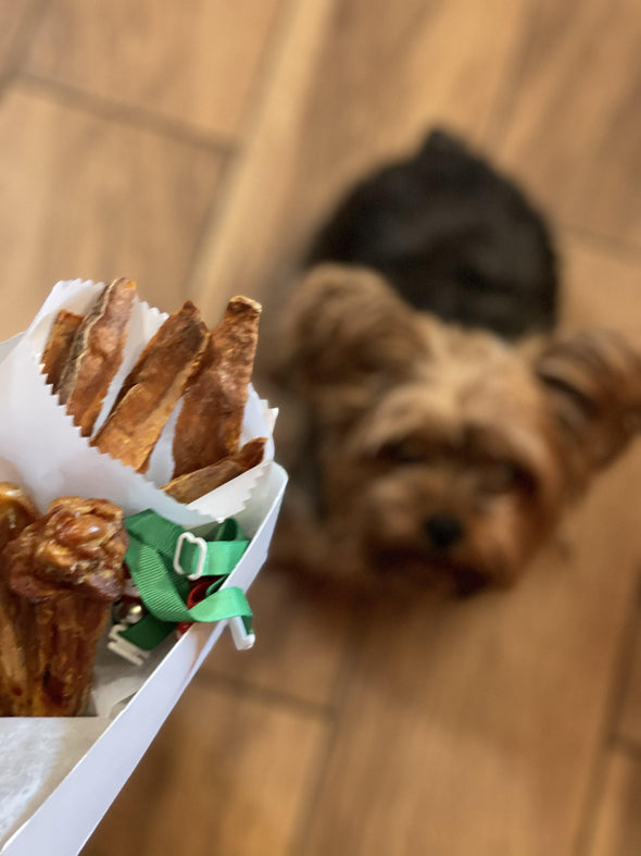 The Doggie Chicken Spot Box - In Pups We Trust