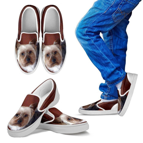 Yorkshire Slip Ons For Kids-Express Shipping-Paww-Printz-Merchandise