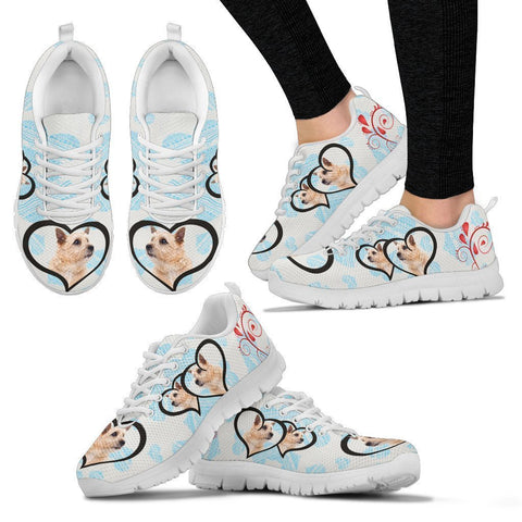 Valentine's Day Special-Norwich Terrier Print Running Shoes For Women-Free Shipping-Paww-Printz-Merchandise