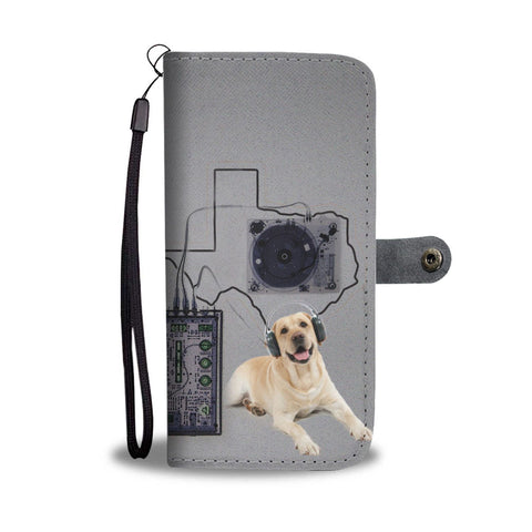 Labrador Retriever Print Wallet Case-Free Shipping-TX State