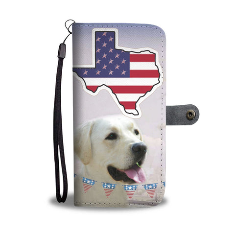 Lovely Labrador Retriever Print Wallet Case-Free Shipping-TX State