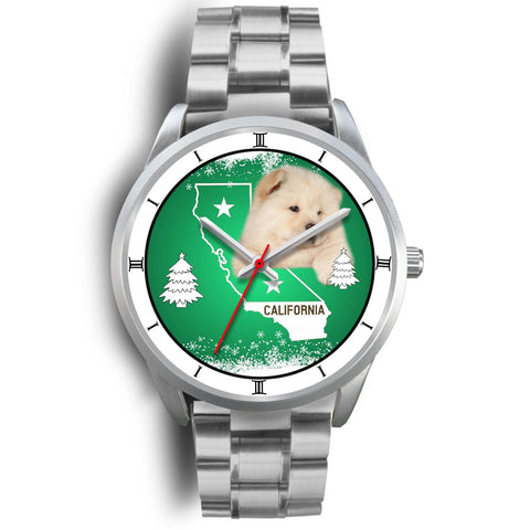 Chow Chow Dog California Christmas Special Wrist Watch-Free Shipping