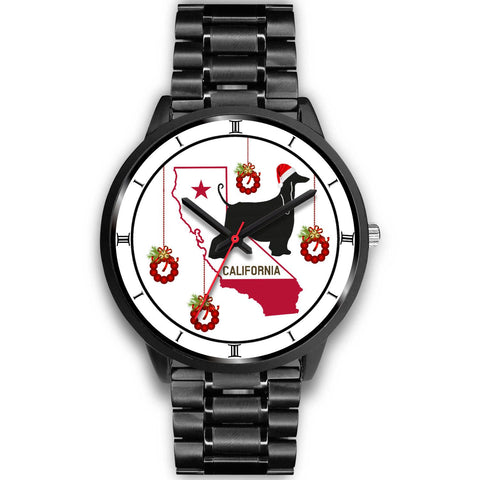 Afghan Hound California Christmas Special Wrist Watch-Free Shipping